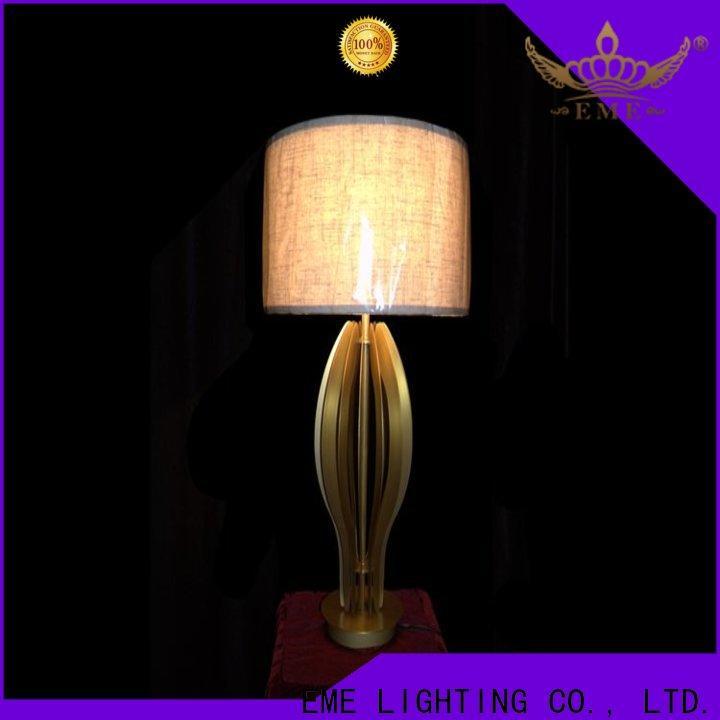 EME LIGHTING copper hotel floor lamps for wholesale for restaurant