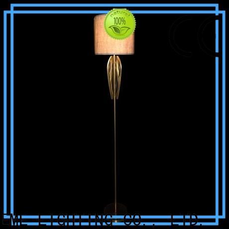EME LIGHTING brass hotel floor lamps OEM for restaurant