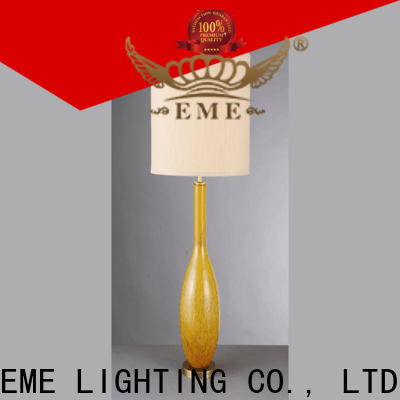 contemporary western table lamps unique design copper material for restaurant