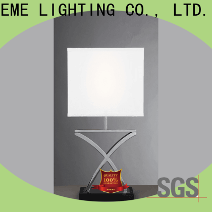EME LIGHTING decorative glass table lamps for living room copper material for bedroom