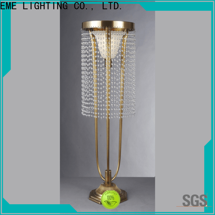 decorative colored table lamp white modern for restaurant