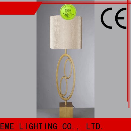 EME LIGHTING elegant oriental table lamps flower pattern for restaurant