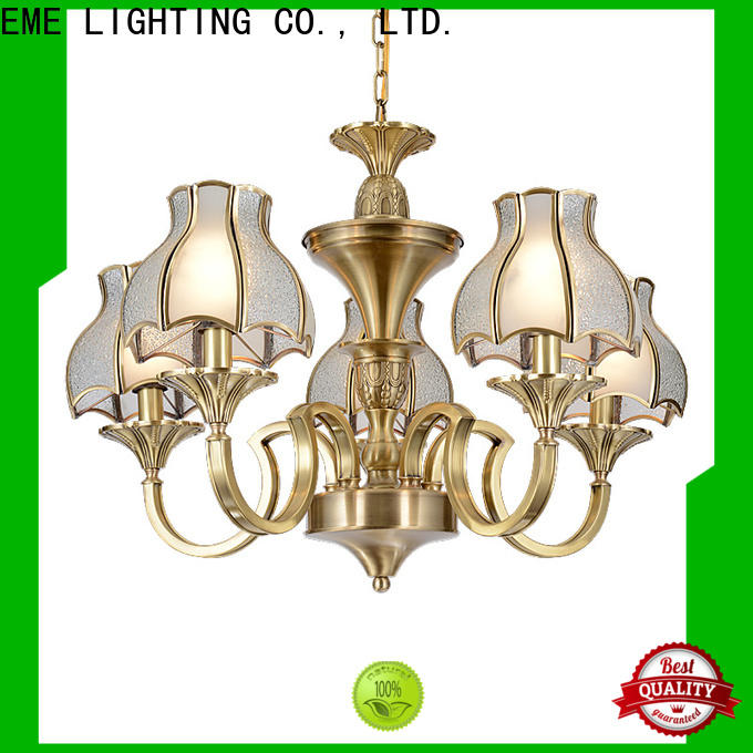 EME LIGHTING antique solid brass chandelier residential for dining room