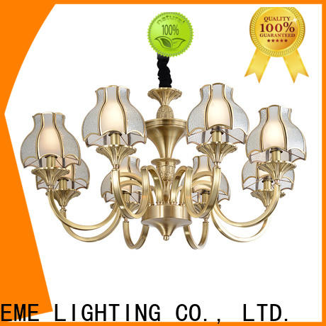 EME LIGHTING antique modern brass chandelier residential for home