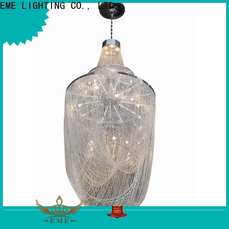 customized Large Hanging Chandelier round latest design for lobby