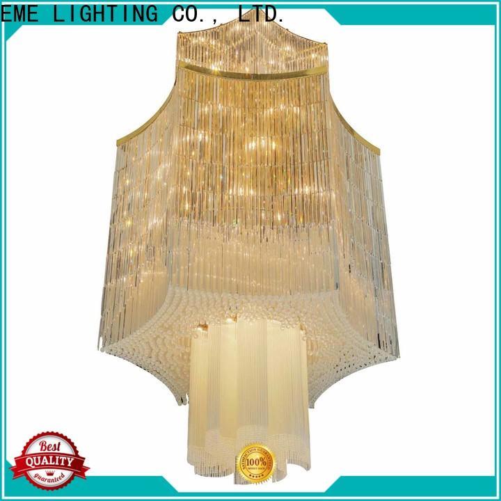 EME LIGHTING traditional custom crystal chandeliers bulk production for dining room
