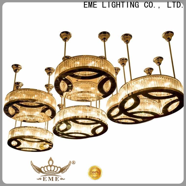 EME LIGHTING traditional vintage crystal chandelier for dining room