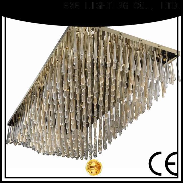 EME LIGHTING acrylic luxury chandelier on-sale for lobby
