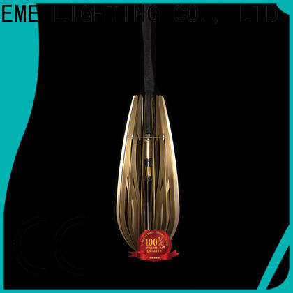 EME LIGHTING elegant copper and glass pendant light Jane European style for house
