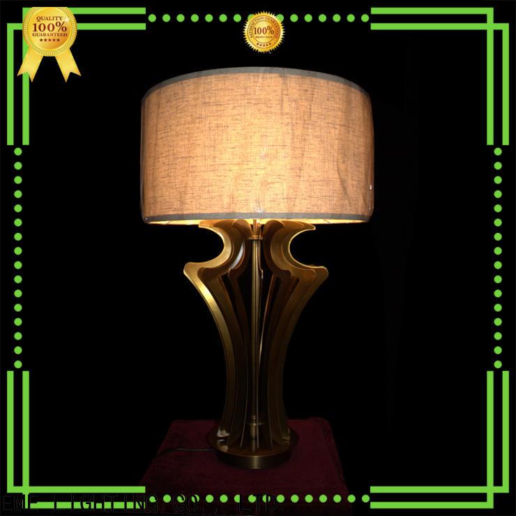 EME LIGHTING decorative wood table lamp modern cheap