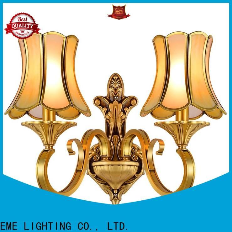 EME LIGHTING brass wall sconces for living room OEM for restaurant