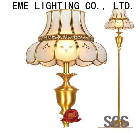 EME LIGHTING square decorative floor lamps flower pattern for bedroom