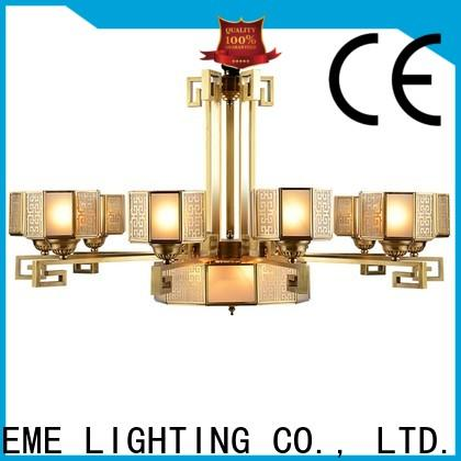 EME LIGHTING large chandelier over dining table traditional for big lobby