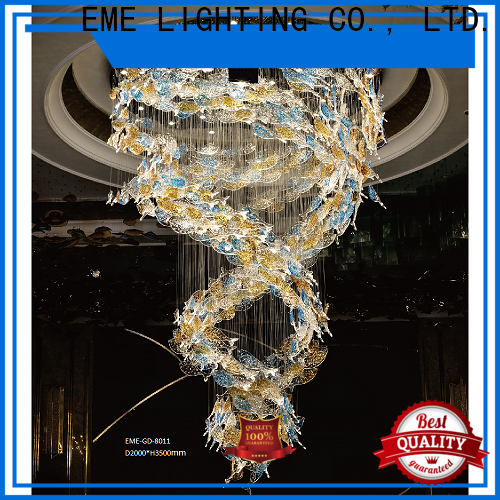 EME LIGHTING unique modern chandelier lights European style for lobby