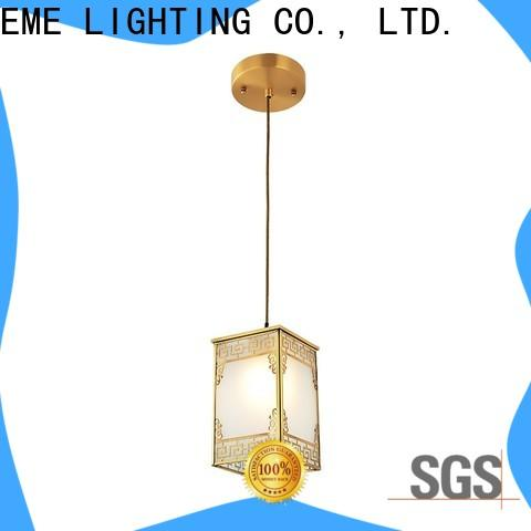 EME LIGHTING luxury brass ceiling lights round for dining room