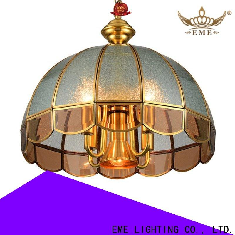 EME LIGHTING copper bronze crystal chandelier traditional for home