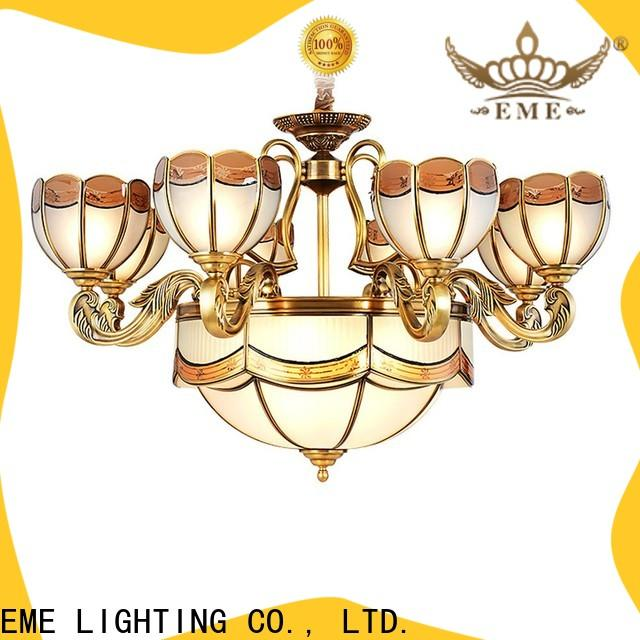 EME LIGHTING copper restaurant chandeliers vintage for big lobby