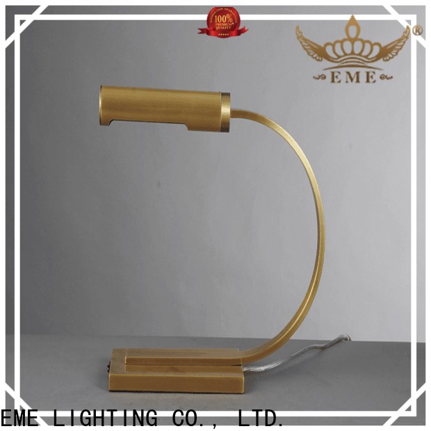 contemporary glass table lamps for bedroom decorative copper material for study