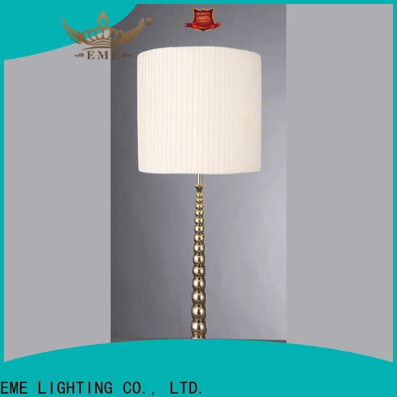 EME LIGHTING contemporary glass table lamps for living room brass material for house