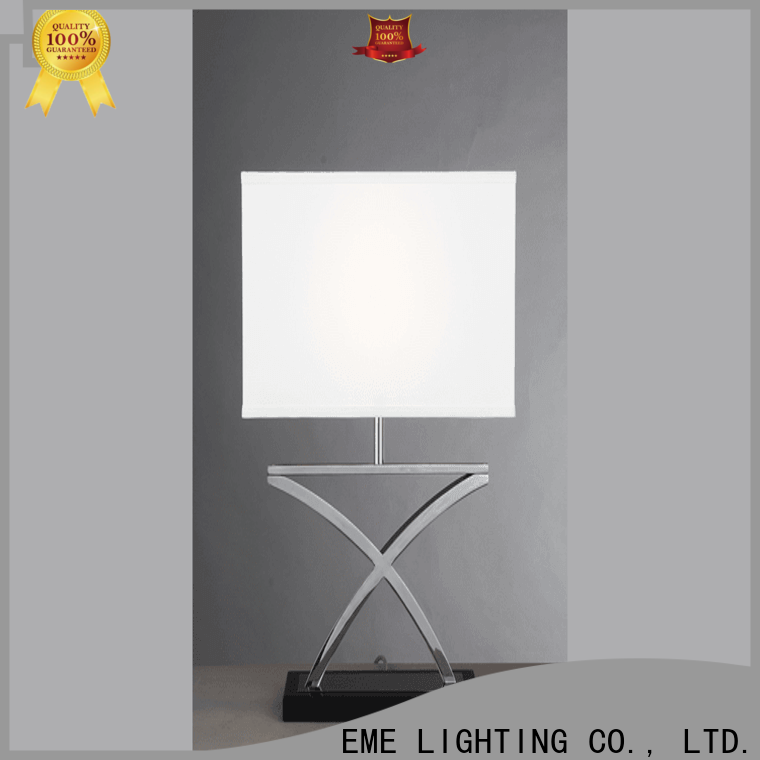 EME LIGHTING retro western table lamps copper material for study