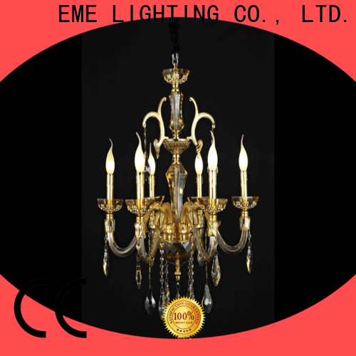 EME LIGHTING customized chandelier ceiling light bulk production for lobby