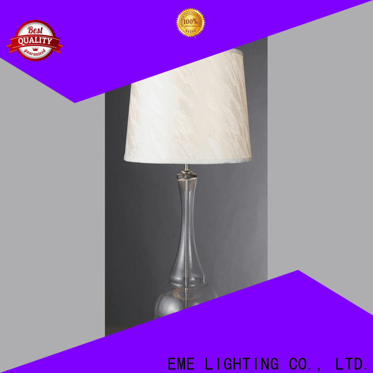 decorative colored table lamp gold fancy for restaurant