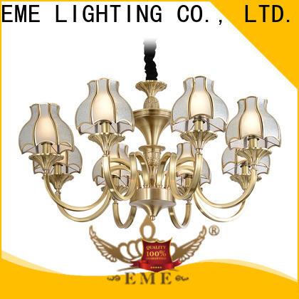 EME LIGHTING luxury antique brass chandelier residential for home