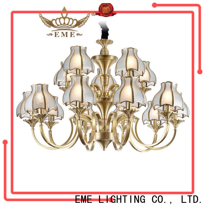 EME LIGHTING concise chandelier over dining table vintage for big lobby