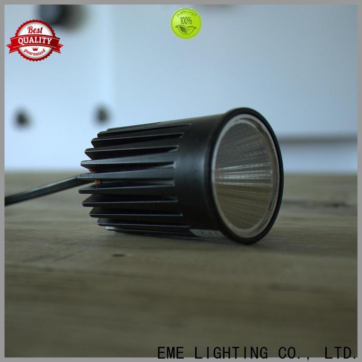 EME LIGHTING adjustable ring square downlight bulk production for hotels