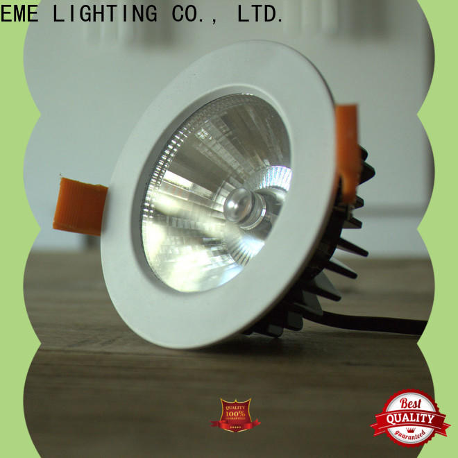 EME LIGHTING white outdoor led downlights bulk production for hotels