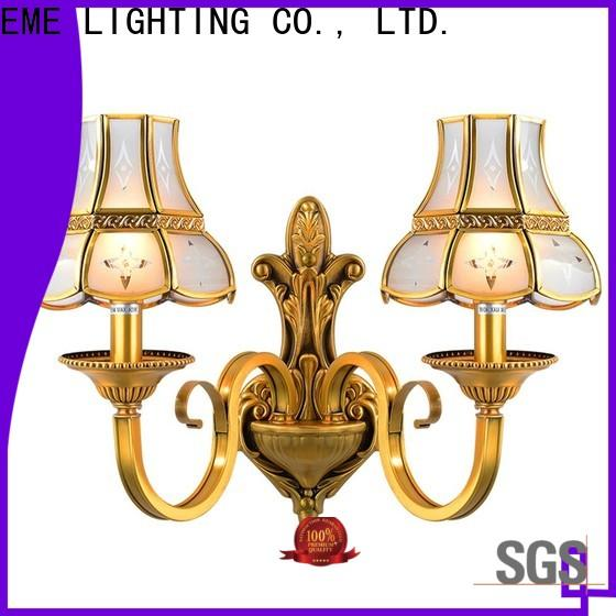EME LIGHTING vintage gold sconces free sample for indoor decoration
