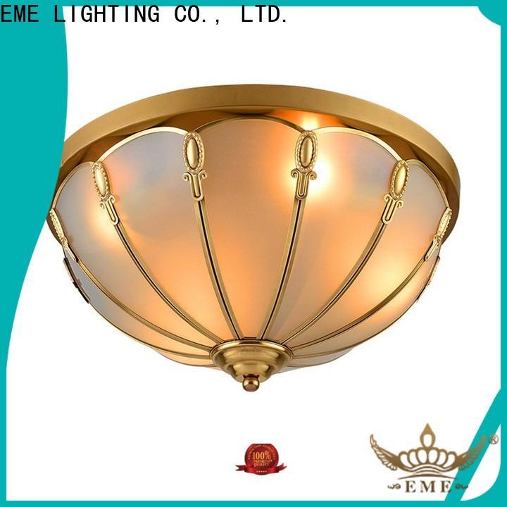 EME LIGHTING modern brass ceiling lights vintage for big lobby