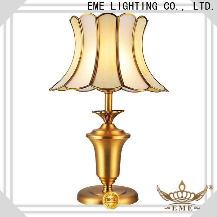 EME LIGHTING contemporary glass table lamps for living room factory price for house