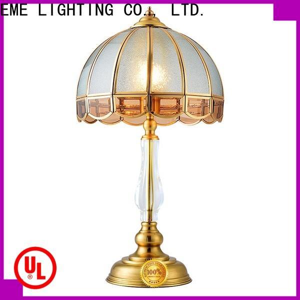 EME LIGHTING European style glass table lamps for living room cheap for study