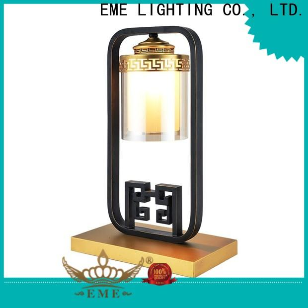 EME LIGHTING vintage colored table lamp Chinese style for bedroom
