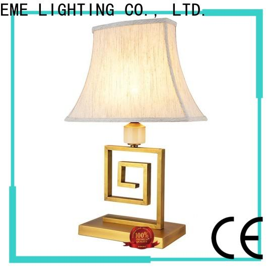 EME LIGHTING gold colored table lamp traditional for bedroom