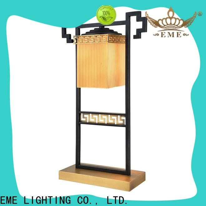 decorative colored table lamp glass fancy for bedroom