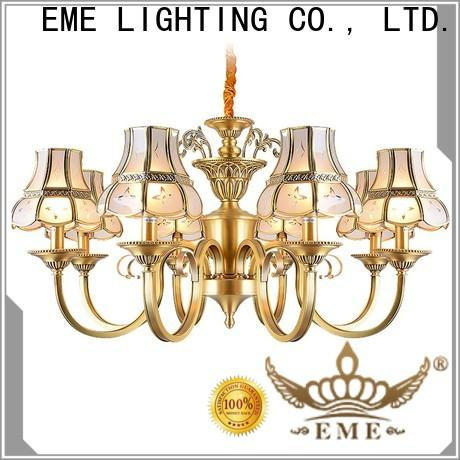 high-end chandeliers wholesale copper round