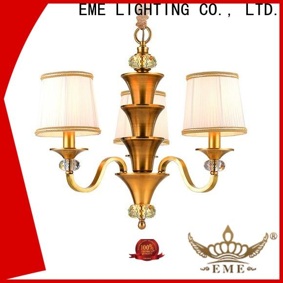 EME LIGHTING glass hanging copper lights round for home