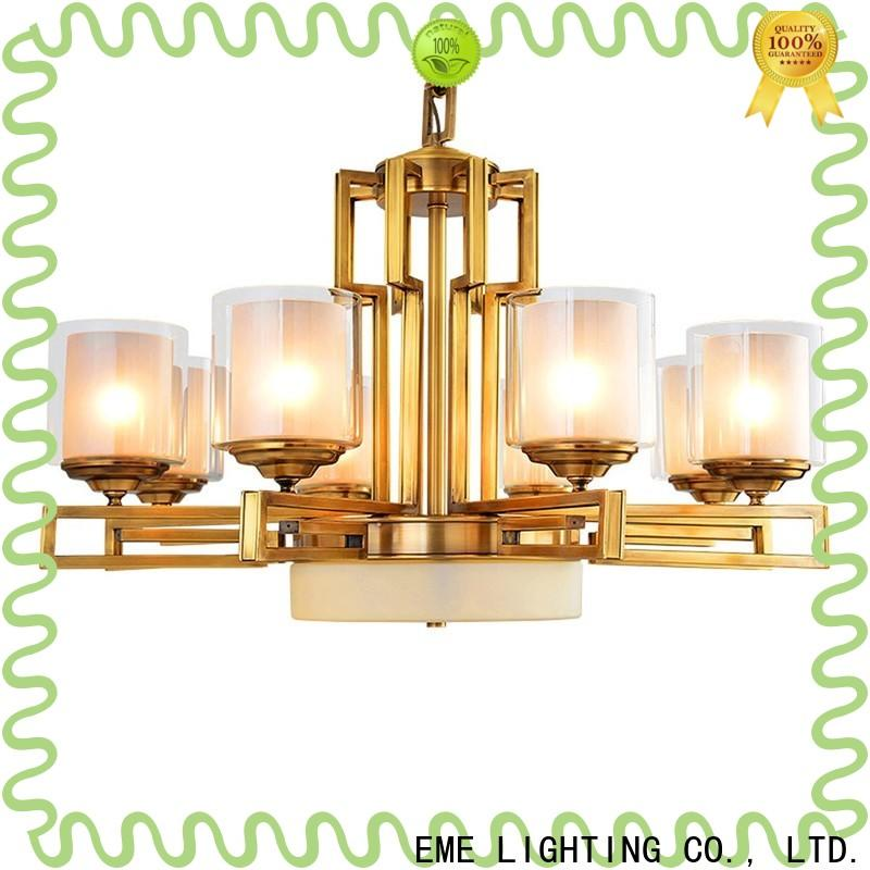 EME LIGHTING large solid brass chandelier residential
