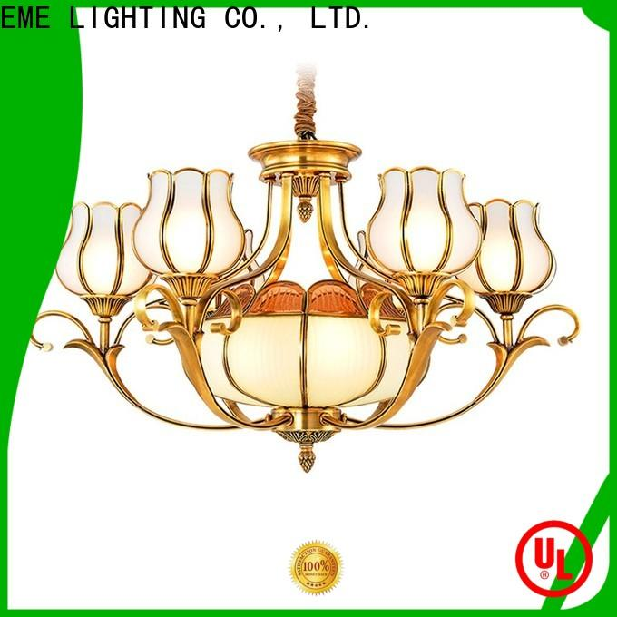EME LIGHTING decorative copper lights traditional for big lobby