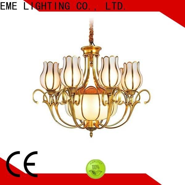 antique solid brass chandelier american style round for dining room