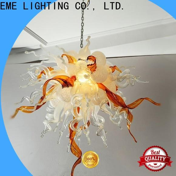 EME LIGHTING colored coral restaurant lighting design pure white for hotel