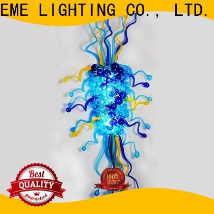 leaf shape restaurant lighting design colored coral pure white for hotel