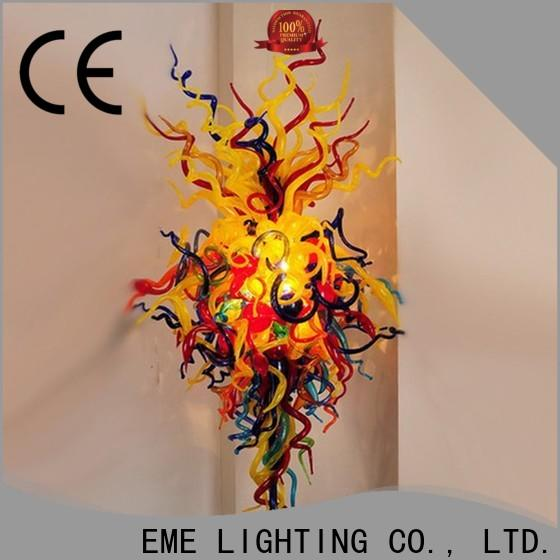 EME LIGHTING colored coral restaurant pendant light unique for hobby