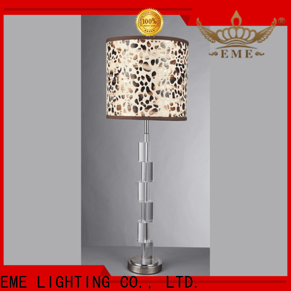 contemporary western table lamps unique design copper material