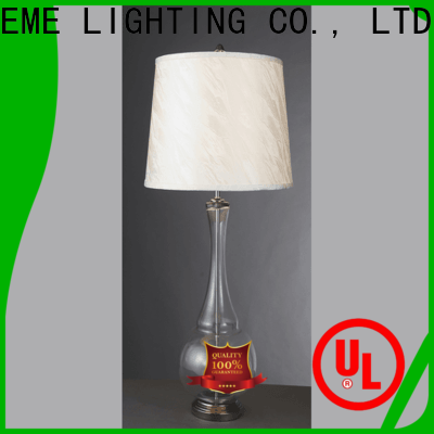 decorative colored table lamp gold antique for restaurant