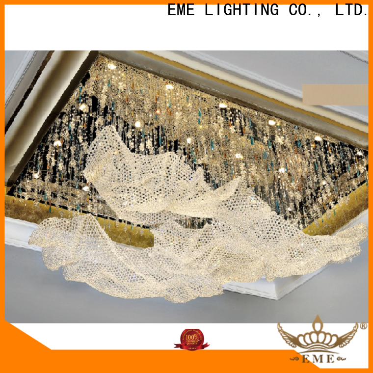 customized custom crystal chandeliers acrylic on-sale for dining room