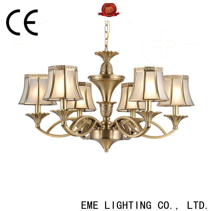 EME LIGHTING large antique copper pendant light residential