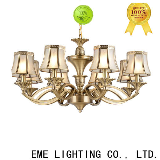 EME LIGHTING glass hanging chandelier over dining table round for dining room